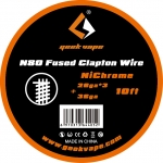 10FT Geekvape N80 Fused Clapton Wire 28ga*3+36g