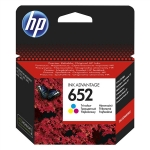 HP ΜΕΛΑΝΙ INKJET No652 TRI-COLOUR
